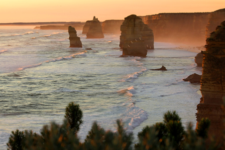 great ocean road victoria, victoria, sea, sunset, landscape, nature, Australia, photo, photography, oz nature shots, Emmy Silvius