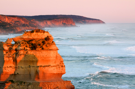 great ocean road, twelve apostles, sunset, sea, victoria, landscape, nature, Australia, photo, photography, oz nature shots, Emmy Silvius